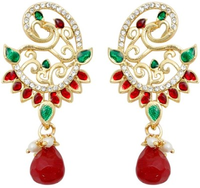 KANISH Finely Crafted Alloy Drop Earring