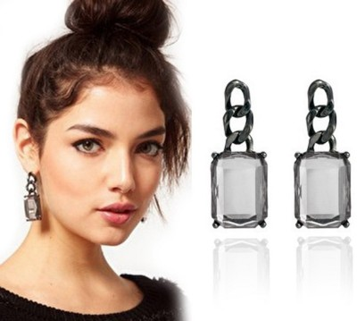 Brandmeup Link On Alloy Drop Earring