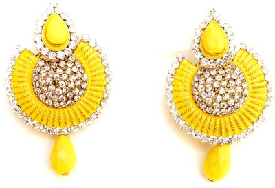 NM Products yellow Metal Drop Earring