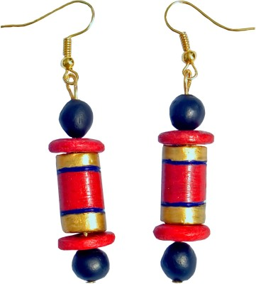 Retaaz Chakravat Karnika Terracotta Ceramic Dangle Earring