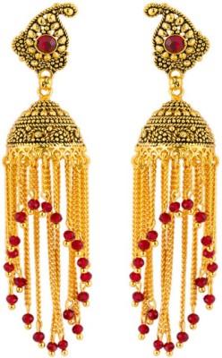 CTW Beads Designer Bollywood Zummer Brass Jhumki Earring