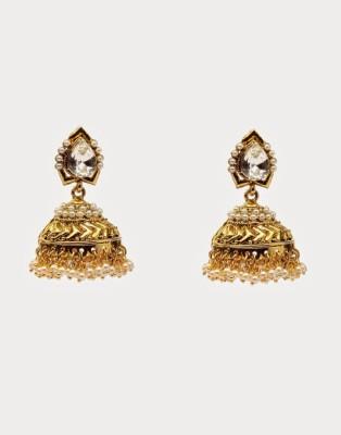 Oars Rajwada Alloy Jhumki Earring
