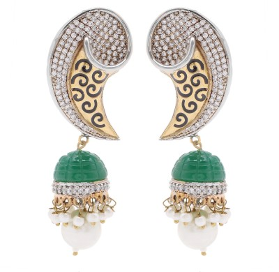 Mayra Handicrafts Good-looking Brass Jhumki Earring
