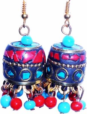 Buyer's Beach Multicolor Jhumki Metal Jhumki Earring