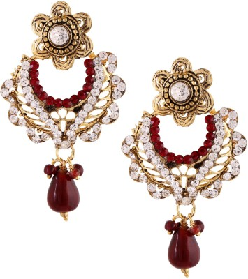 Ritus Collection RCE-0023 Alloy Chandbali Earring