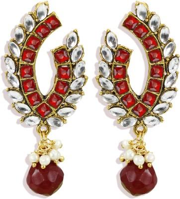 Zaveri Pearls Stylish Brass Drop Earring