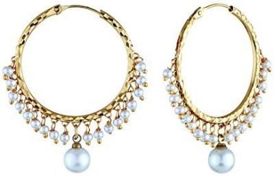Satyam Jewellery Nx Gold Plated Copper Huggie Earring