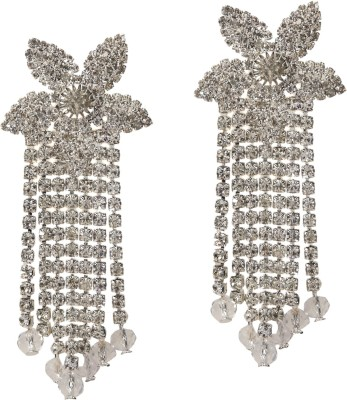 Medallion Collection Hangings Brass, Copper Tassel Earring