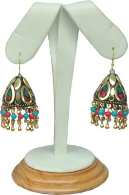 Design Concoction antique style Alloy Jhumki Earring