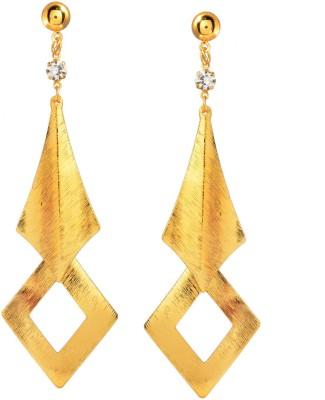 Ark Golden Contemporary Alloy Dangle Earring