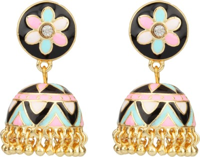 Savvy Fashion Brass Jhumki Earring