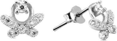 Payalwala Terrato Sterling Silver Stud Earring