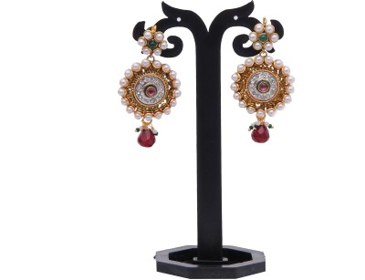 Itzmyfashion Ethnic Alloy Drop Earring