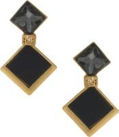 Anuradha Art Classy Korean Stone Metal Stud Earring