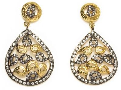 Joyas Traditional Brass Drop Earring