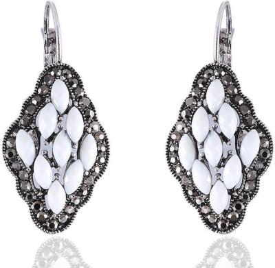 Vastradi Jewels Brass, Alloy Hoop Earring