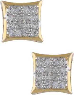 Anuradha Art Beautifully Designed Copper Stud Earring