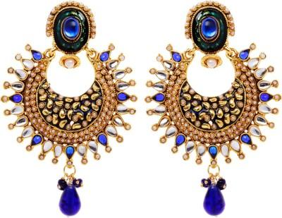 Rays 843507151 Pearl, Crystal Copper, Zinc Drop Earring