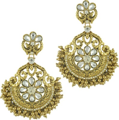 Ethnic Jewels Classic Alloy Chandelier Earring