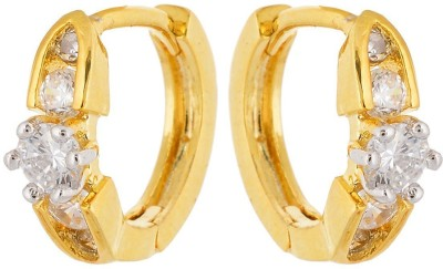 tsb RETAILS ER-0255 Brass Hoop Earring