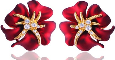 Silver Shoppee Adore Cubic Zirconia Metal Stud Earring