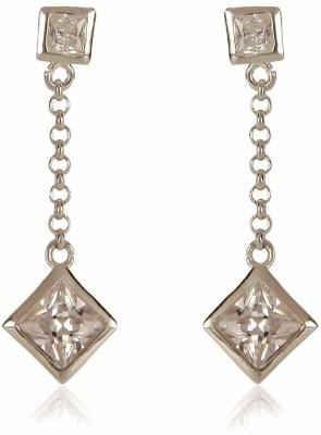 Arezzo Sterling Silver Drop Earring