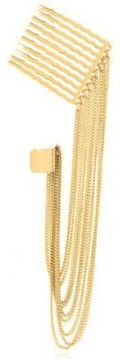 GemRoute Princess Multi-Chain Alloy Cuff Earring