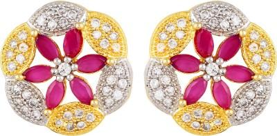 Fashionage pretty Brass Stud Earring