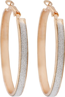 Diovanni Angels Without Rings Alloy Hoop Earring