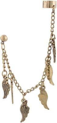 FashionFundamentals Wings Alloy Cuff Earring