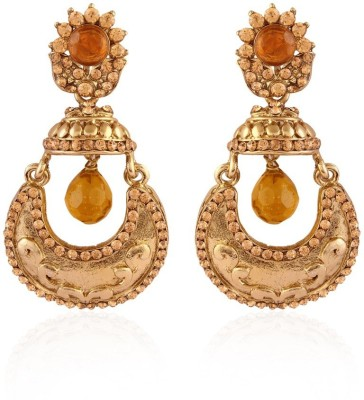 I Jewels Chand Jhumki Shaped Alloy Jhumki Earring