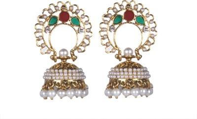 Tatva Authentic Style Alloy Jhumki Earring