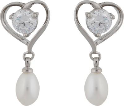 Janki Jewellers New Fashion Pearl Alloy Drop Earring