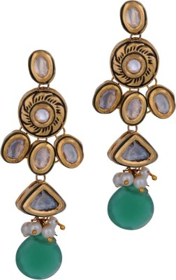 Anannya Jewelry Style Diva Copper Drop Earring