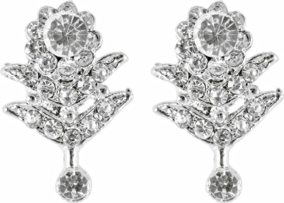 Suvini Dazzling With Shiny Crystals Alloy Drop Earring