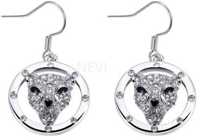 Nevi Dog Crystal, Swarovski Crystal Metal, Crystal Dangle Earring