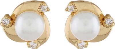 Classique DesignerJewellery Stylish Pearl Alloy Stud Earring