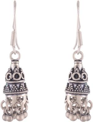 Chandrika Pearls Ethnic Silver Jhumki Earring