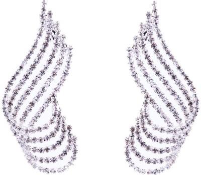 Monisha Daga Diamond Curl Alloy Cuff Earring