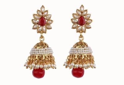 Aashvi Creation Chandelier Pearl Alloy Chandelier Earring