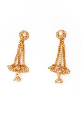 Ankur Brass Drop Earring