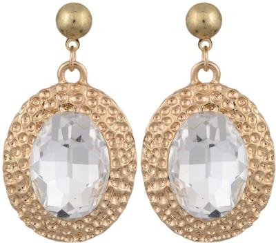 Golden Petals Glam N Alloy Drop Earring