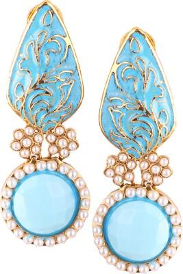 Varaagk Brass Drop Earring