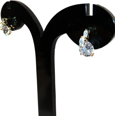 Chains n Charms Diamond Drops Crystal Alloy Drop Earring