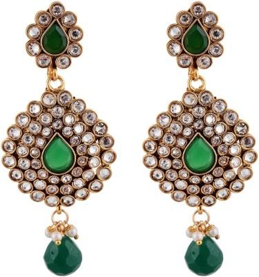 Bhagvathi Pearls Brass Drop Earring