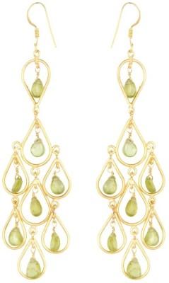 Circuzz Carnelian Brass Drop Earring