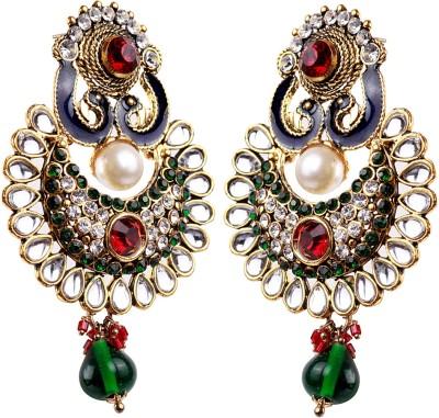 Oars Alloy Chandbali Earring