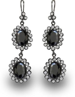 SuvidhaArts Festive Fashion Cubic Zirconia Brass Dangle Earring
