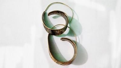 zenith jewels princess69 Brass Stud Earring