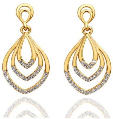 ArietteJewels Joyous Earring - Gold Copper Drop Earring